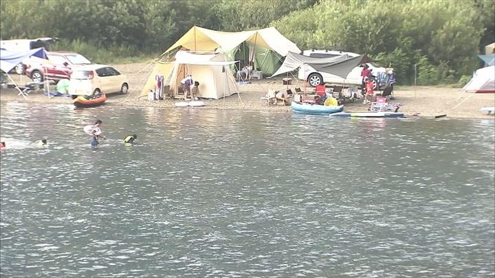 西湖で水難事故 8歳の女の子心肺...